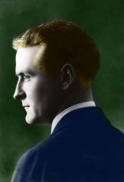 Portrait of Francis Scott Fitzgerald (1896-1940), American writer.