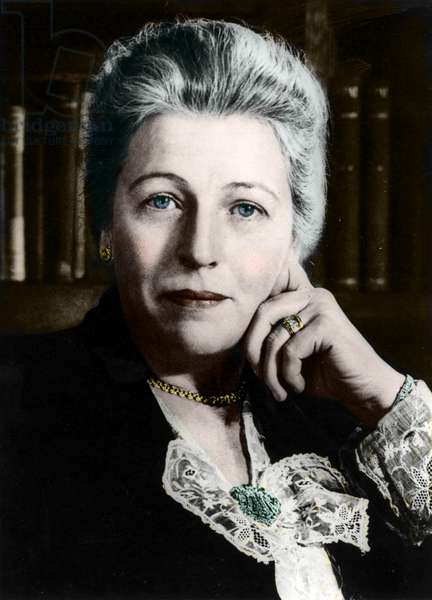portrait of Pearl Buck (1892-1973), American novelist, Nobel Prize in Literature 1938.