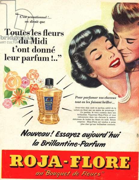 press advertisement Roja Flore brillantine