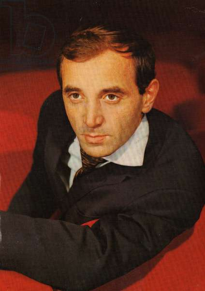 Photo Charles Aznavour