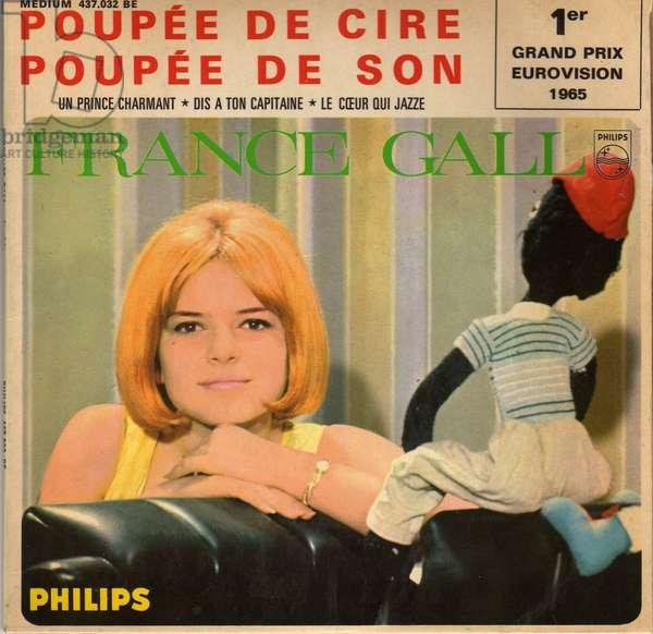 45 turns France Gall Wax Stern
