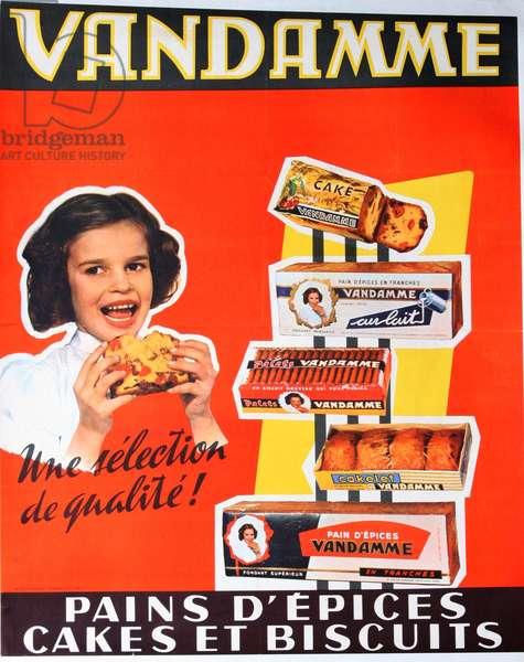 poster gingerbread Vandamme