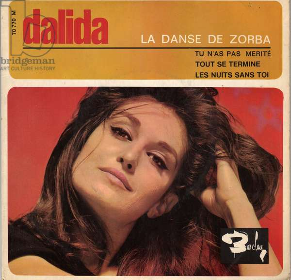 45 laps Dalida Dance of Zorba