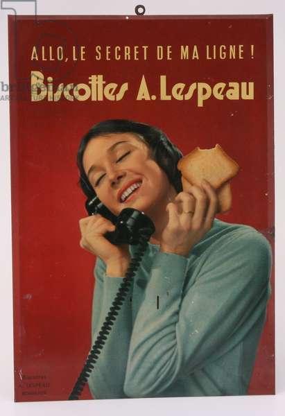 Tole biscottes A.Lespeau