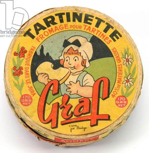 Box of graf cheese