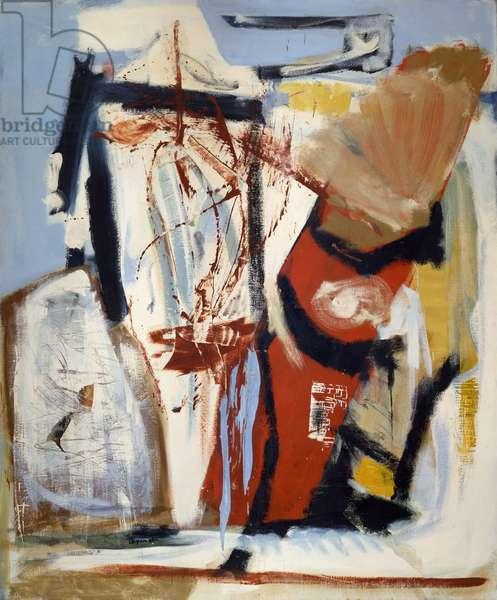 Saracinesco, 1961 (oil on canvas)