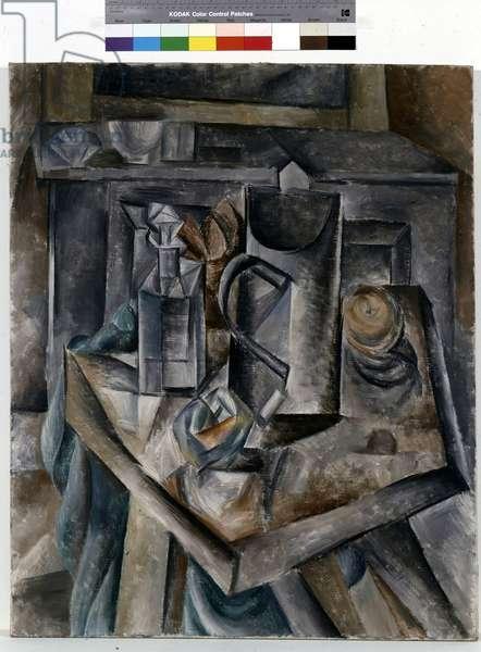 Le Bock, 1909-10 (oil on canvas)
