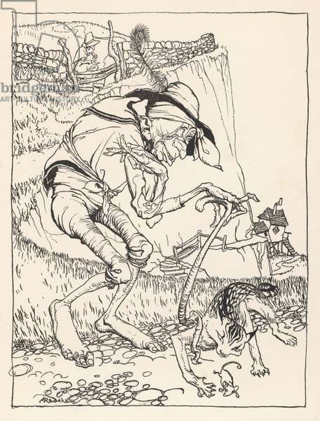 There was a Crooked Man, 1912, illustration