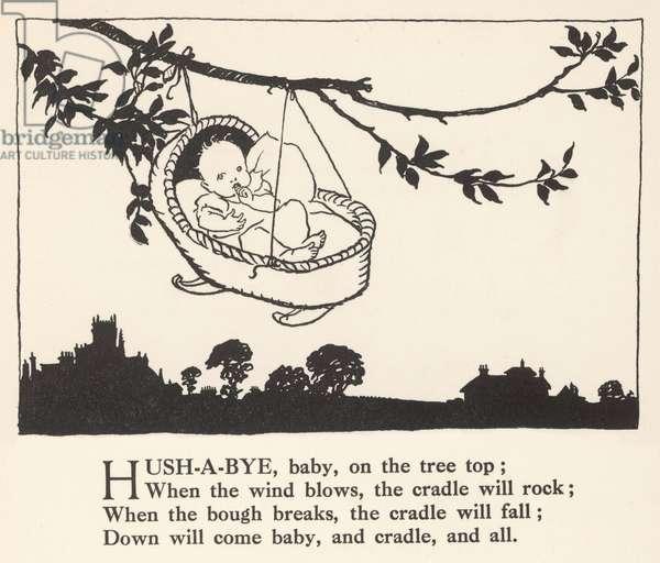 Hush-A-Bye Baby, 1912, illustration
