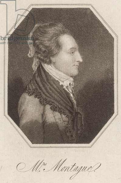 Elizabeth Montagu, 1815 (engraving)