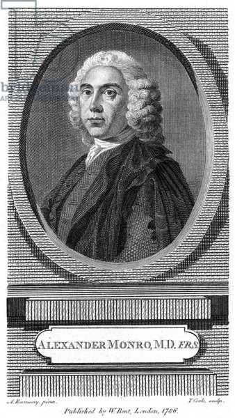 Alexander Monro, 1786 (etching)