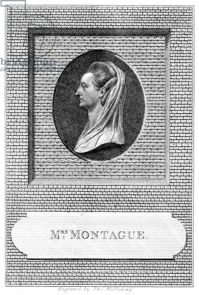 Elizabeth Montagu, 1785 (engraving)