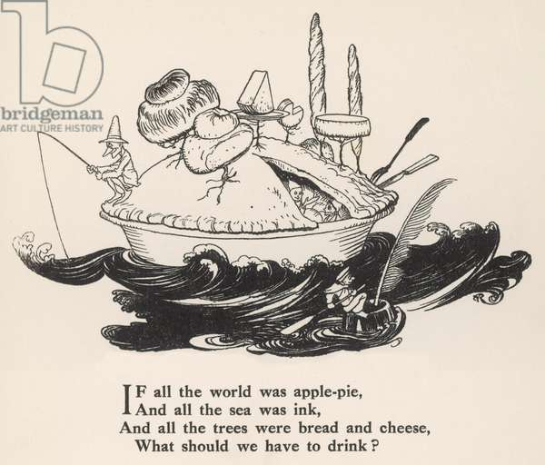 If all the world was…, 1912, illustration