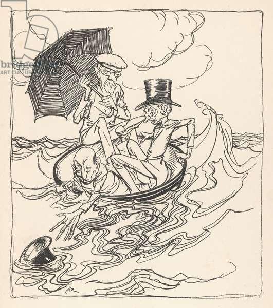 Three Wise Men of Gotham, 1912, illustration
