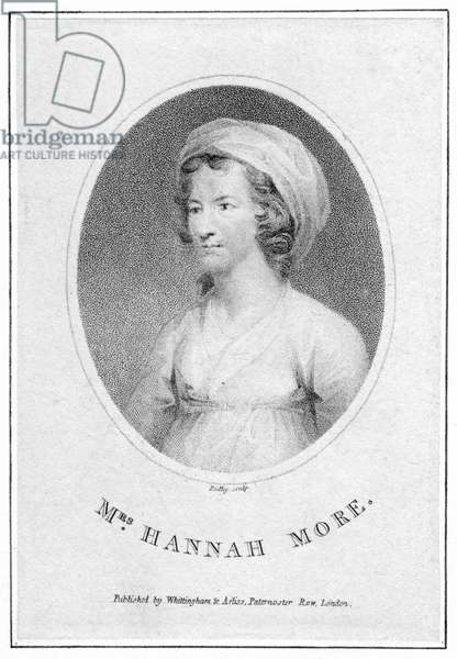 Young Hannah More, 19th century, engraving