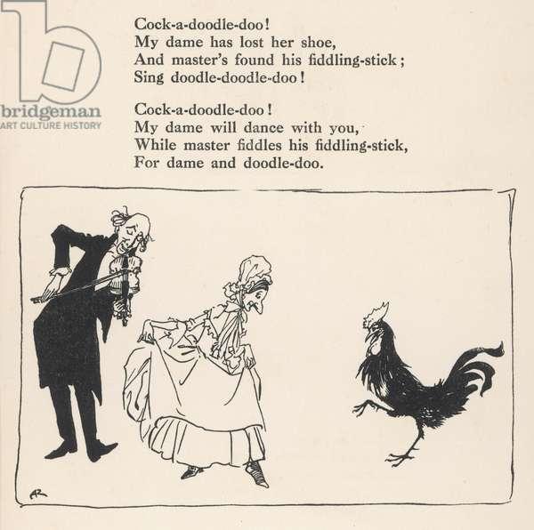 Cock-a-Doodle-Doo!, 1912, illustration