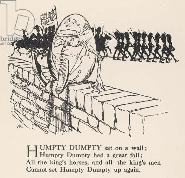 Humpty Dumpty, 1912, illustration