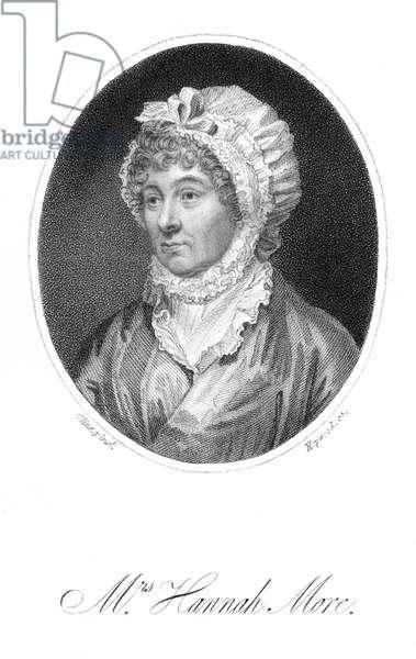 Hannah More, engraving