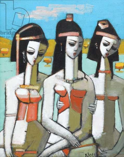 Aegean's (oil on canvas)