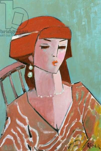 Carole R, 2007 (oil on canvas board)