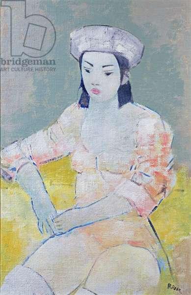 Dancer, 2004 (oil on canvas)