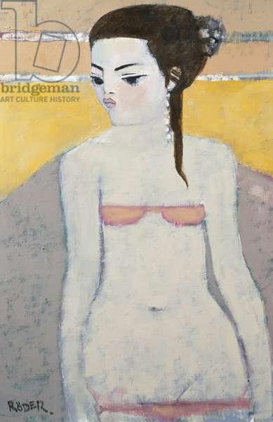 Michela Again, 2007 (oil on canvas board)