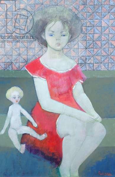 Cindy, 1996 (oil on canvas)