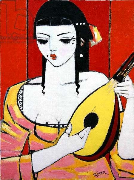 Mandolin, 2008 (oil on canvas board)