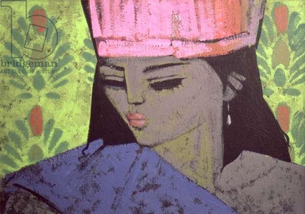 Antoinette (acrylic on paper)