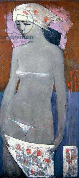 Veronica, 1989 (oil on board)