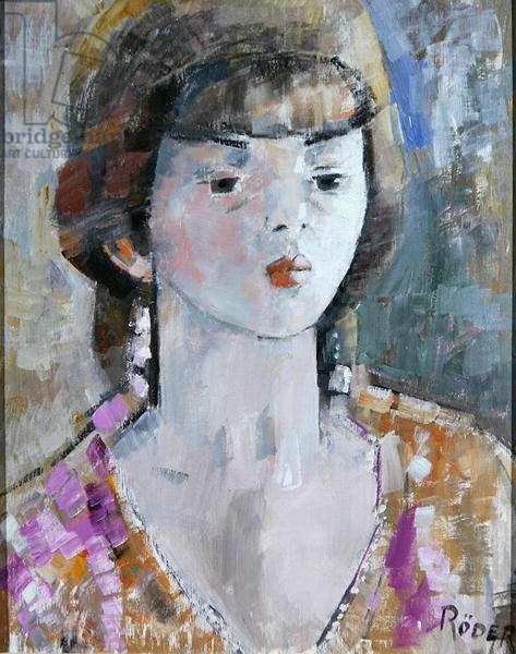 Miss Bowen (oil on board)