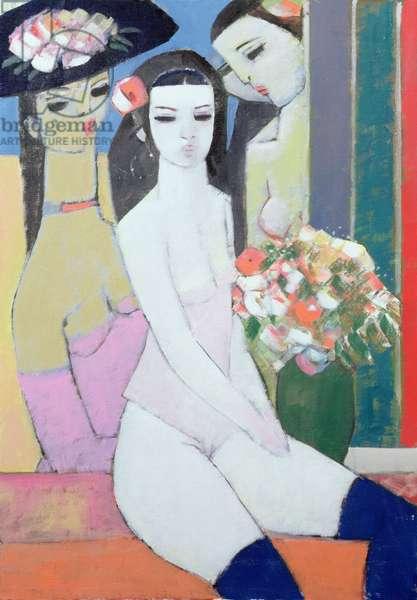 Josephine, 2008 (oil on canvas board)