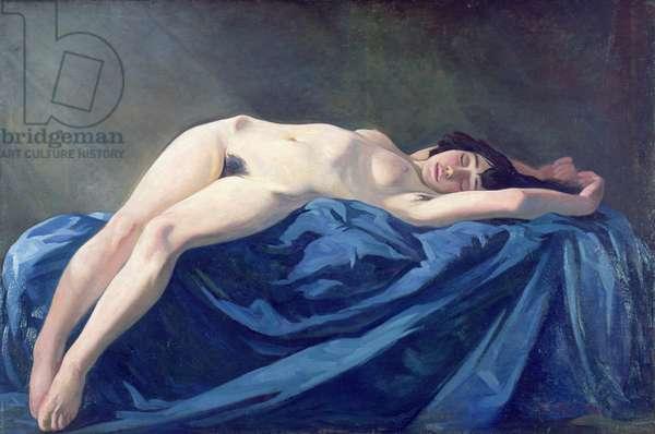 Nude Girl, 1921 (oil on canvas)