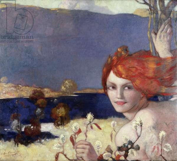 Spring, 1913 (oil on canvas)