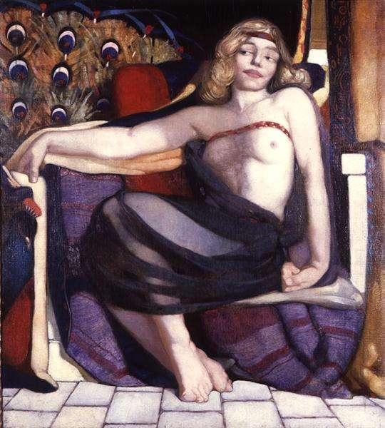 Odalisque, 1913 (oil on canvas)
