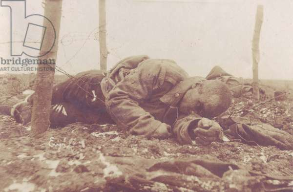 German soldier corpse on the Russian front