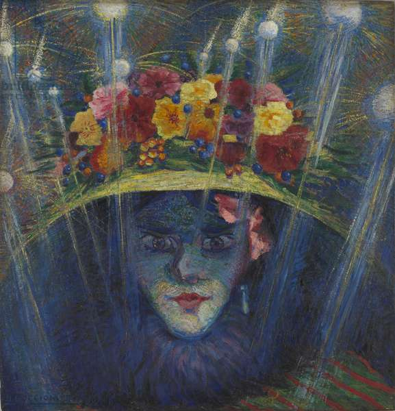 Modern Idol, 1911 (oil on board)