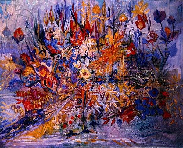 Bouquet, 1999 (oil on canvas)