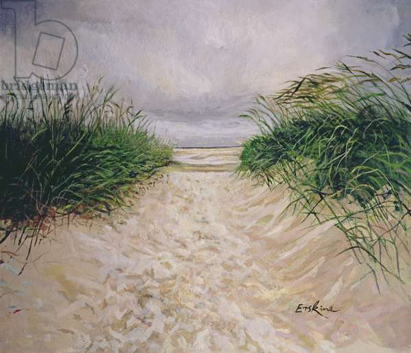 Dunes, Amrum, Germany, 2005 (oil on canvas)