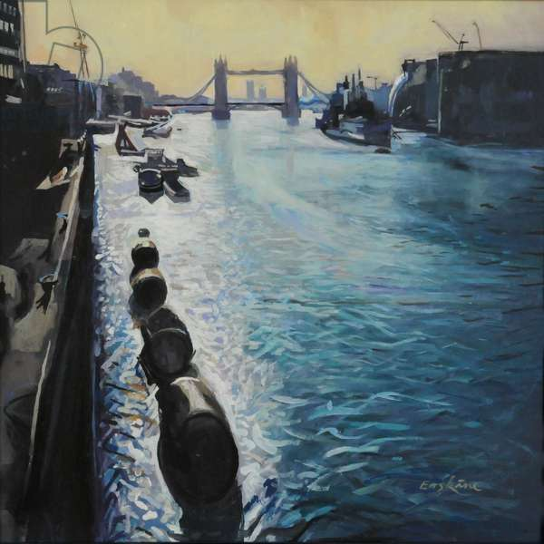 The Thames - Summer morning