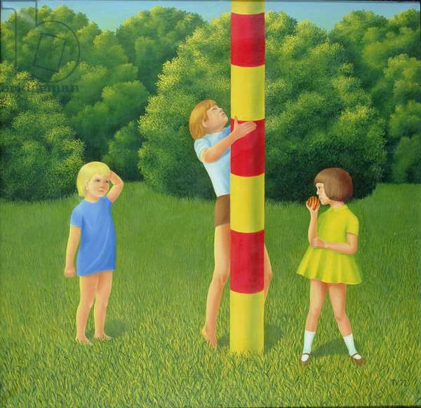 Game, 1972 (oil on canvas)