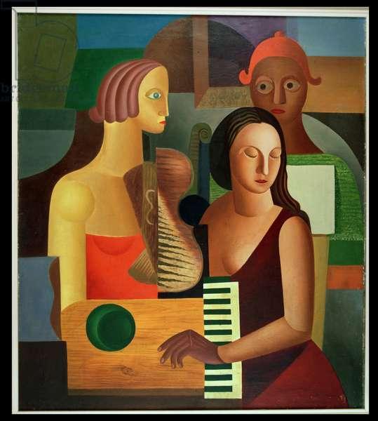Concert, 1924 (oil on canvas)