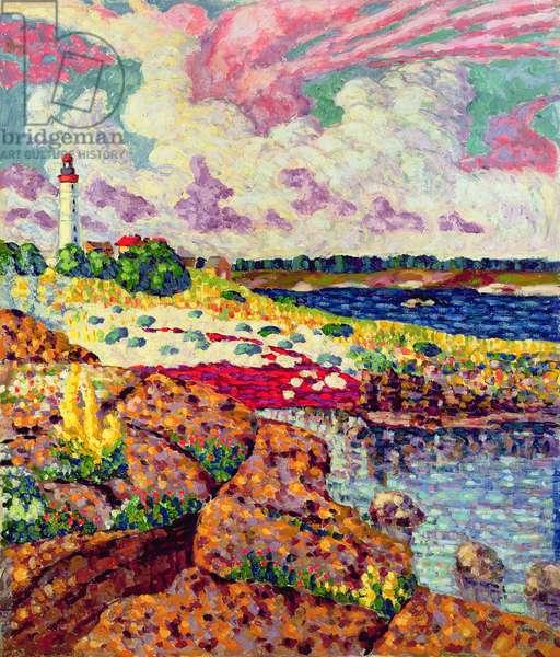 The Lighthouse at Vilsandi, c.1913-14
