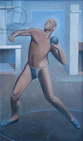 Man with a Shot, 1929 (oil on canvas)