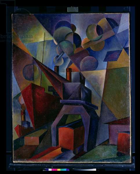 Harbour, 1924 (oil on canvas)