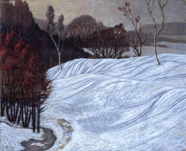 Norwegian Landscape, 1908-10 (oil on canvas)