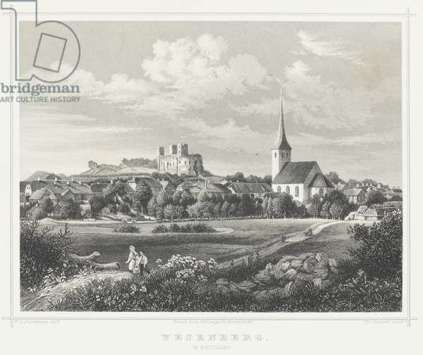 Rakvere, 1867 (engraving)