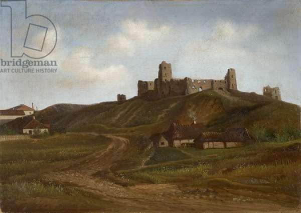 Ruins of Rakvere Castle (oil on canvas)
