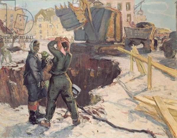 Spring in Tallinn, 1959 (oil on canvas)
