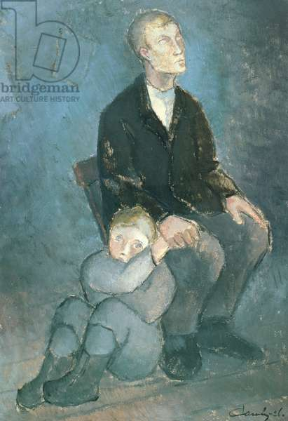Blind, 1926 (oil on canvas)